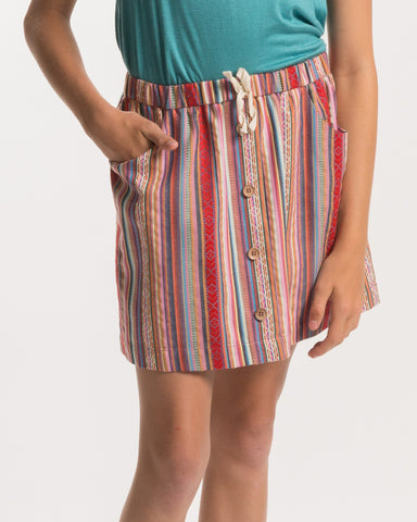 PPLA Candy Striped Skirt - E + ME - 1