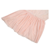 Egg By Susan Lazar Jersey Tulle Combo Dress - Pink - E + ME - 3