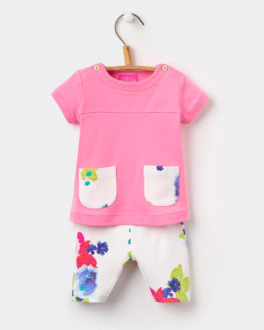 Joules Baby Pretty Pink Tunic & Legging Set
