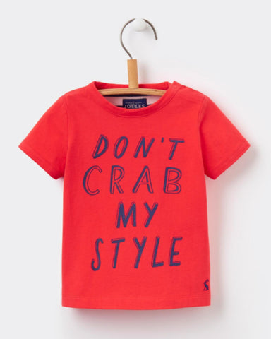 Joules Baby Finlay T-Shirt - Red