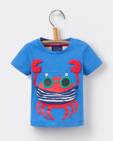 Joules Baby Clawsome Applique Tee