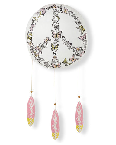 Lil' Pyar Butterfly Dreamcatcher Mobile - E + ME
