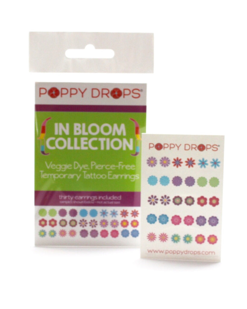 Poppy Drops Pierce-Free Earrings - In Bloom Collection - E + ME