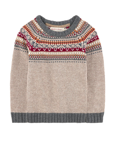 Deux Par Deux Crockett Knit Sweater - E + ME - 1