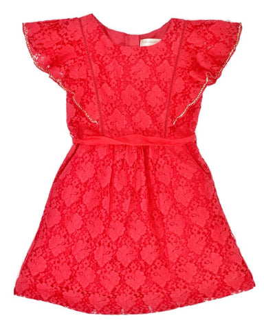 Cupcake & Pastries Flutter Sleeve Dress - E + ME - 1