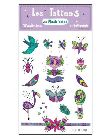 Temporary Tattoos - Enchanted Forest - E + ME