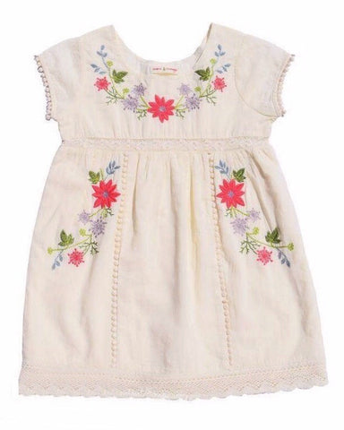 Mimi and Maggie Botanical Garden Spring Flowers Dress