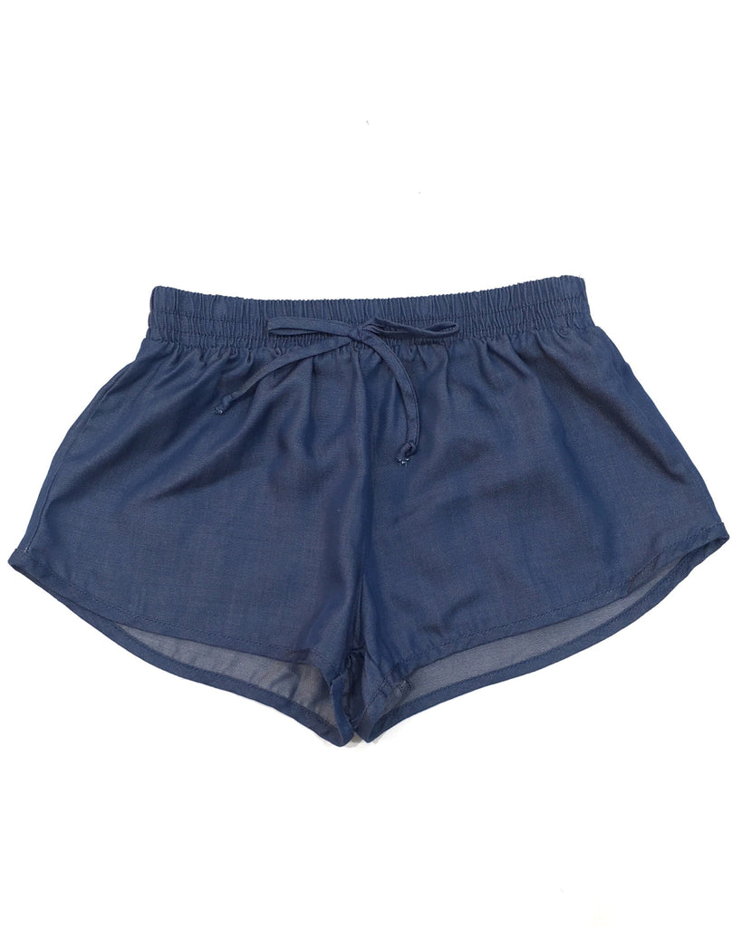 PPLA Girls Chambray Track Shorts