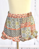 PPLA Coral Print Sally Shorts