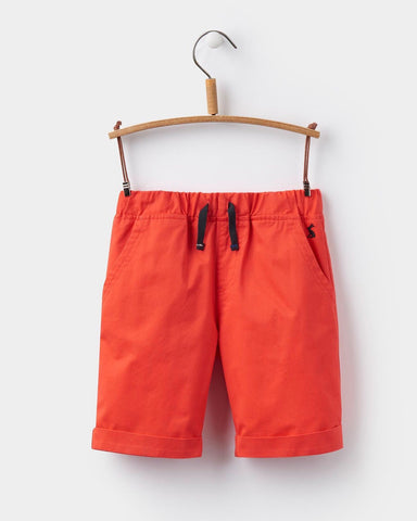 Joules Pull On Shorts - Red