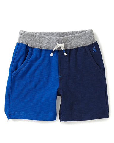 Joules Boy Buccaneer Jersey Shorts - Bold Blue