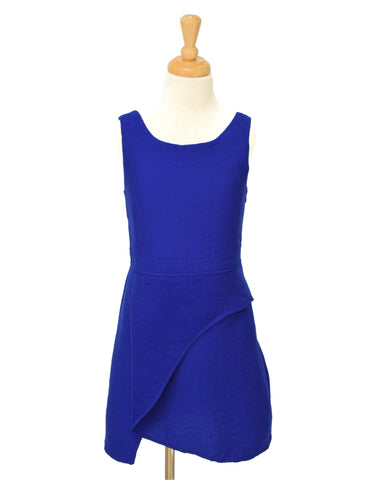 Elisa B Textured Royal Sheath Dress - E + ME - 1