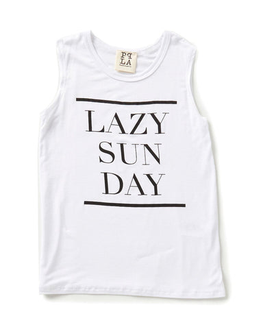 PPLA Girls Lazy Sunday Tank