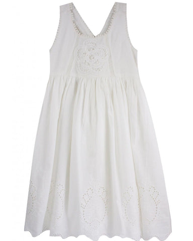 Mimi and Maggie Lake District Dress - White