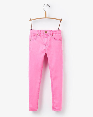 Joules Linnet Neon Pink Jeans - E + ME
