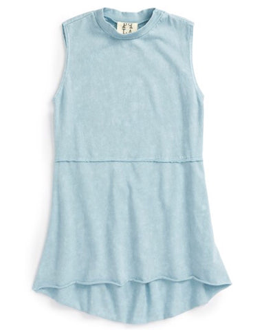 PPLA Girls Blue Wash Kaley Tank