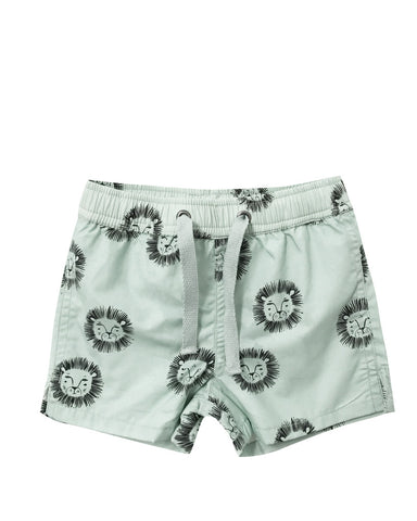 Ryle & Cru Lions Swim Trunk - Mint