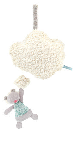 Moulin Roty Musical Cloud Mobile - E + ME - 1
