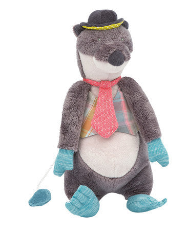 Moulin Roty Monsieur Loutre Otter Musical Doll - E + ME