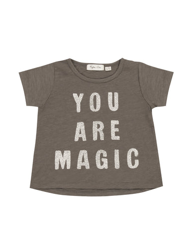Rylee & Cru Magic Basic Tee - Slate