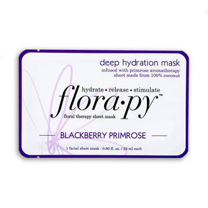Deep Hydration Aromatherapy Sheet Mask, Blackberry Primrose