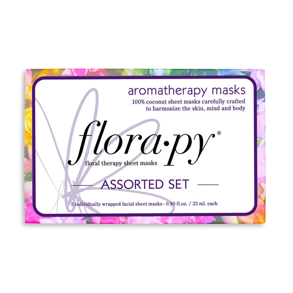 Assorted Sheet Mask Set, 5 Count