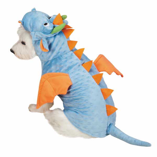 ... Dimple Dragon Halloween Dog Costumes - Blue - The Paws Land - 2 ...  sc 1 st  The Paws Land : fish costume for dogs  - Germanpascual.Com