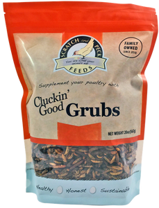 Scratch Peck Cluckin' Good Grubs 20 oz