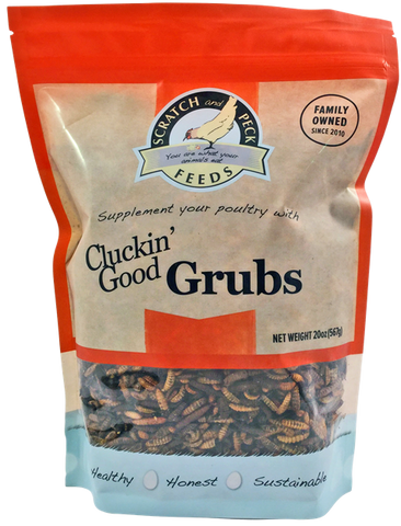 Scratch Peck Cluckin' Good Grubs 20oz