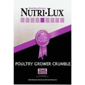 Nutri Lux Turkey & Broiler Grower 40lb Red Tag