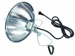 Brooder Lamp Reflector w/Clamp