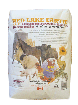 Diatomaceous Earth 40lb Red Lake