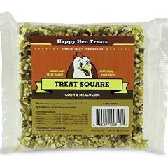 Happy Hen Mealworm Corn Treat Square