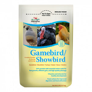 MannaPro Gamebird/Showbird Feed 5lb