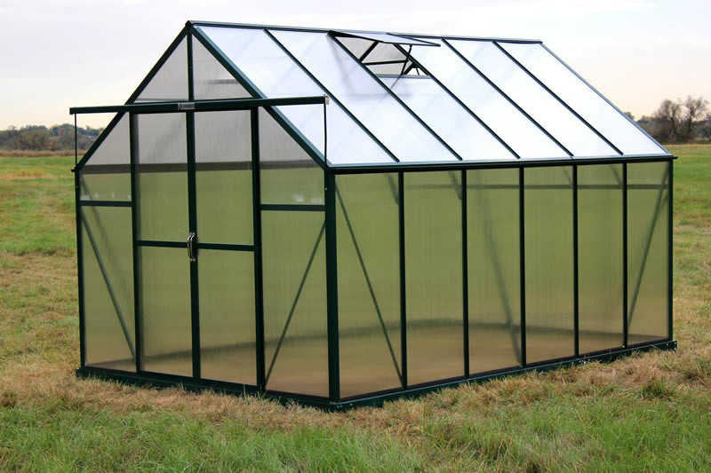Grandio Ascent 8' x 12' Greenhouse Premium Kit