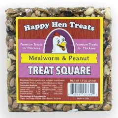 Happy Hen Mealworm Peanut Treat Square