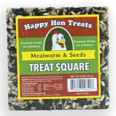Happy Hen Mealworm Seeds Treat Square