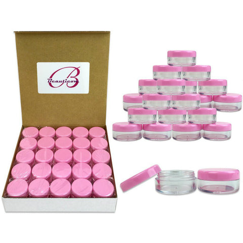 Clear Plastic Cosmetic Containers