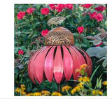 Bird Feeders Wild Pet Seed Hanging Garden Yard Ornament Coneflower Backyard Pink