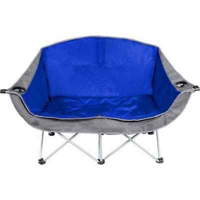Sofa Tailgating Love Seat Oversize Folding Camping Chair Sports Events Folding