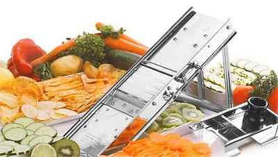 Mandolin Slicer Vegetable Cutter Stainless Steel Veggies Slicing Blades Kitchen
