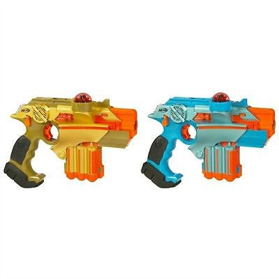 Nerf Lazer Tag Set Guns War Toys Laser Game Double Pack Battle Phoenix Gift NEW!