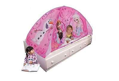Bed Frozen Tent Twin Elsa Anna Playhut Childrens Playhouse Olaf Popup Kids Pink