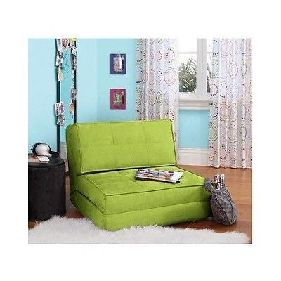 ... Chair Bed Kids Flip Chairs Sleeper Lounge Dorm Teen Bedroom Children  Seating NEW ...