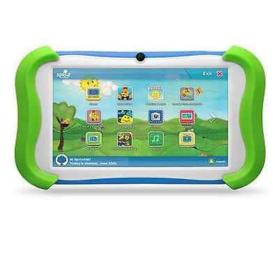 Cubby 7 Inch Tablet Android Kids Webcam Children 16gb Sprout Channel Educational