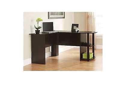 Computer Desk Corner Office Desks L Shaped Table Workstation Laptop Furniture