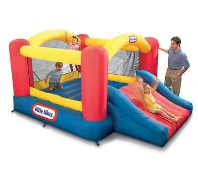 Inflatable Bounce House Jump Slide Kids Outdoor Fun Party Play Bouncer Toddlers