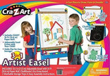 Crafts For Kids Art Easel Painting Chalkboard Whiteboard Artist Supplies Wooden