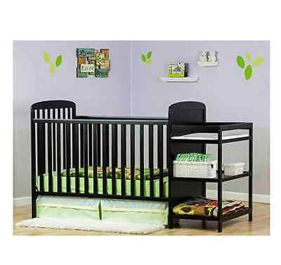 4 In 1 Crib Nursery Baby Convertible Changing Table