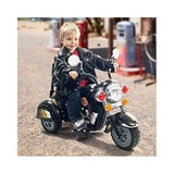 Battery Operated Motorcycle Toys Harley Style Kids Tricycle Bike Ride On Rugged